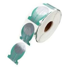 500 шт./roll Профессиональный Ногтей Расширение Форма Зеленый Подковы Ногтей TipRoll Акриловые DIY Инструменты Кривая Гель Руководство наклейки