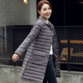 2016 New spring jacket women winter coat womens clothing Medium-Long Cotton Padded slim warm Down Jacket coat High Quality