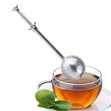 Stainless Steel Teapot Tea Strainer Ball Shaped Mesh Tea Infuser Filter Reusable