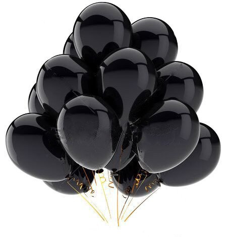20pcs Gold Black Latex Balloons For Birthday Party Decorations And Baby Shower 11