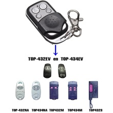 433.92 Mhz Duplicator Copy CAME remote control TOP 432EV TOP-432NA TOP432NA For Universal Garage Door Gate Key Fob copy came top432na top 432na 432ee 432ev universal cloning key fob remote control duplicator cloning for garage doors 433 92mhz