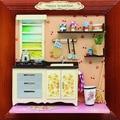 13624 Хонгда кукольный миниатюрный кухонная мебель Альбом деревянный кукольный дом миниатюры для украшения девушки игрушки бесплатная доставка