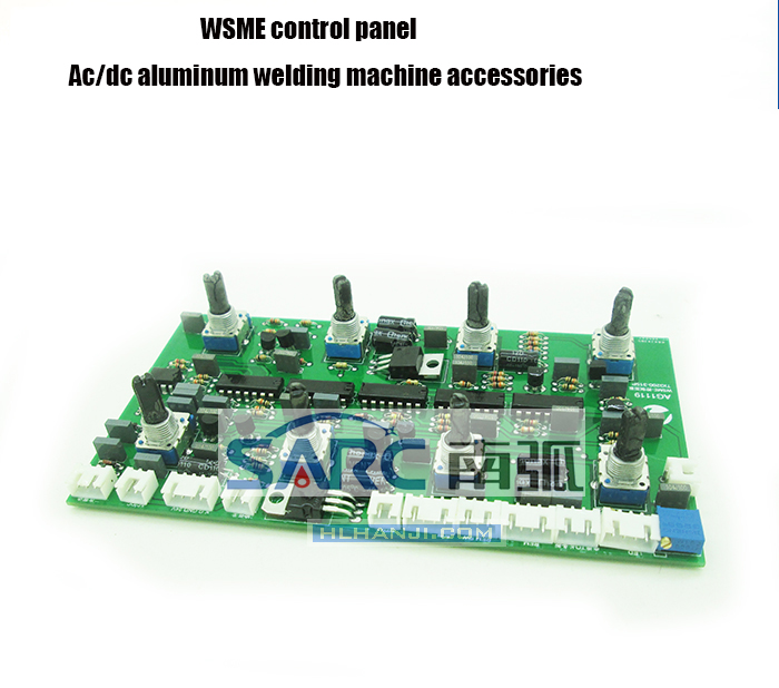 цена на WSME200/250/315 Welding Machine Control Panel, AC and DC Aluminum Welder Circuit Board with Pulsed Argon Arc Welding Accessories