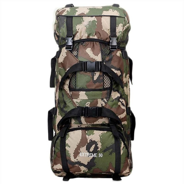 41e1dc88f7d4 Adjustable Tactical Backpack Large Capacity Camouflage Bag Sport Camping  Rucksacks Military Army Bag Sport Travel Rucksack