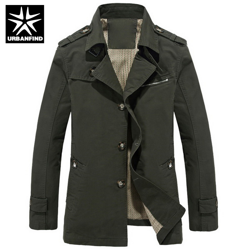 Aliexpress.com : Buy Jacket For Men Cotton Casual Outerwear ...