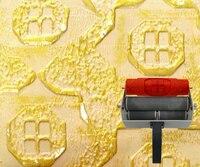 Obraz ścienny narzędzie wzorzyste wałek do dekoracji ścian teksturowane rolka gumowa nr 112 w Zestaw narzędzi do malowania od Narzędzia na