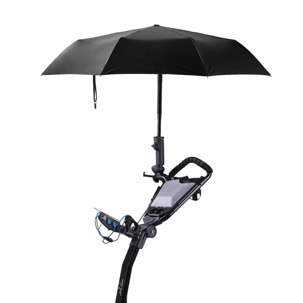 Golf Cart Accessories Golf Umbrella Holder Umbrella Tube Golf Stand With Clamp For Golf Cart Fishing Outdoor Umbrella