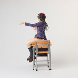 Image 5 - Anime Alphamax Skytube Issho Ni Shiyo Ayaka Futaba Sexy Girl PVC Action Figure Collectible Model doll toy 23cm
