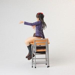 Image 5 - Anime alphamax skytube isho ni shiyo ayaka futaba menina sexy pvc figura de ação collectible modelo boneca brinquedo 23cm