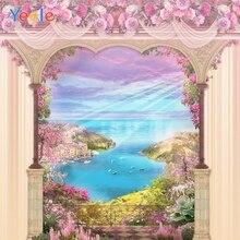 Yeele Photocall Flower River Wedding Wonderland Photography Backdrops Personalized Photographic Backgrounds For Photo Studio