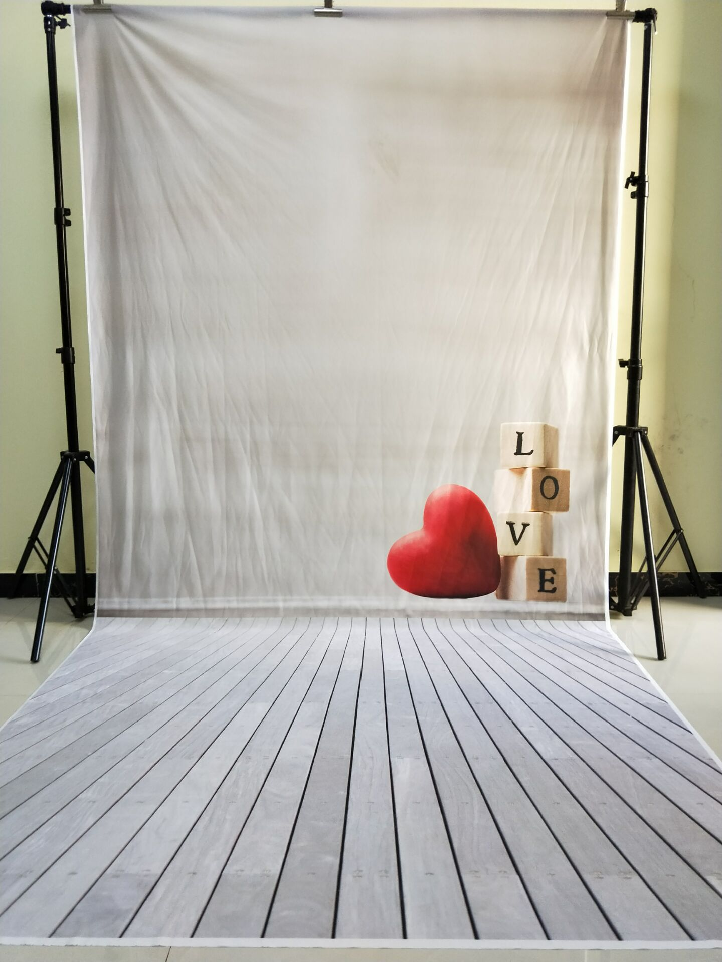 HUAYI 5x10ft Cotton Polyester Photography Backdrop Washable heart backdrops Photo Studios Baby Props Background KP-291 матрас универсальный в коляску esspero baby cotton heart 108068284