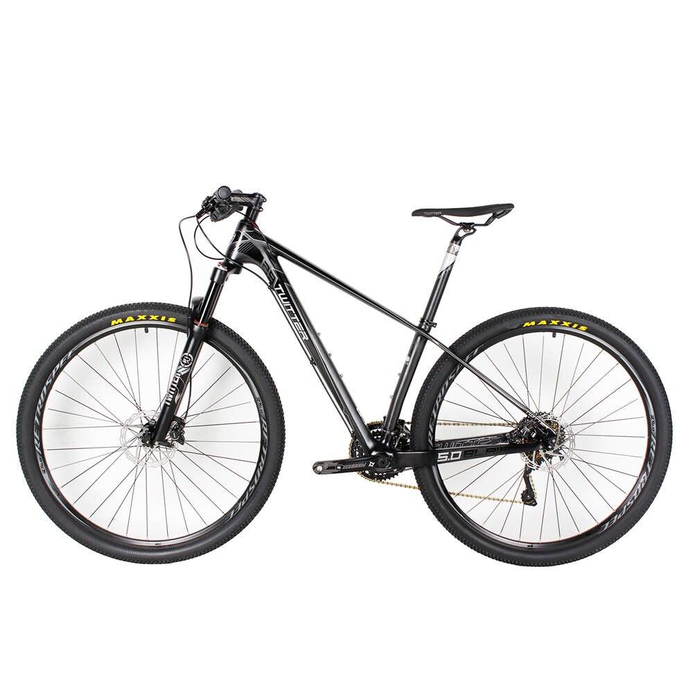 все цены на Hot sale Super Light Full Carbon Fiber MTB Complete Mountain Bike 30Speed Oil Brake 29er 11.5kg Bicycles 15.5