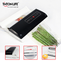 TINTON LIFE SU801 Household Food Vacuum Sealer Vacuum Sealing machine food bag sealer with Bag Holder
