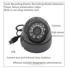 All in one Monitoring system HD CCTV Camera Safety Camera USB power supply Support memory card