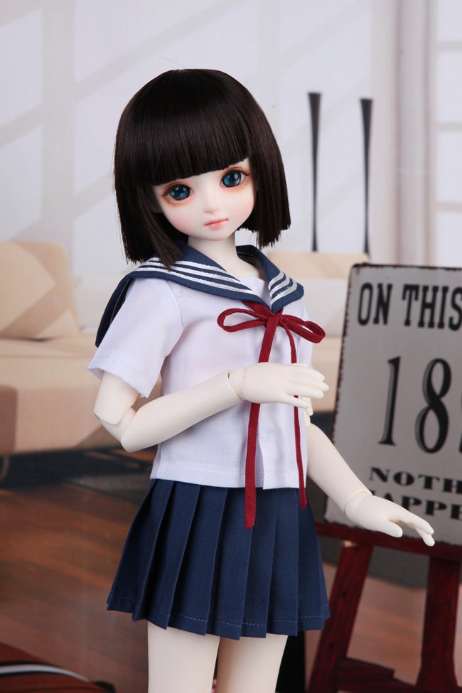 <font><b>1/3</b></font> 1/4 1/6 <font><b>BJD</b></font> Doll <font><b>SD</b></font> <font><b>Clothes</b></font> Fashion Style Toy <font><b>Clothes</b></font> Skirt +Shirt For Girls Baby Birthday Gift image