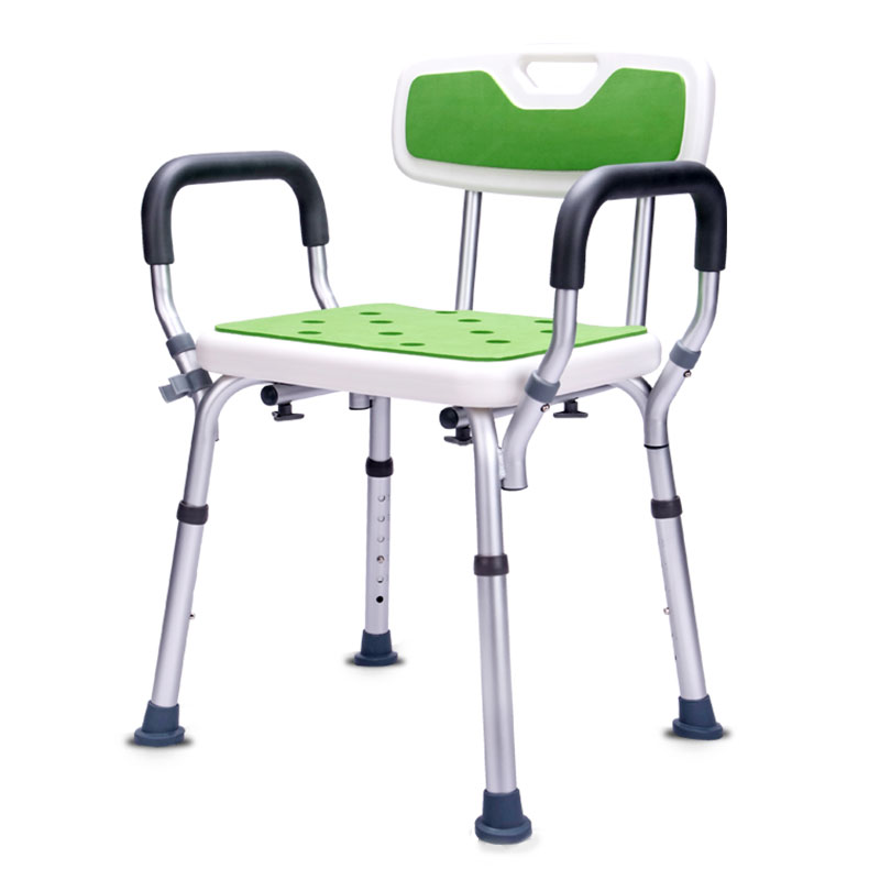Durable Bathing Stool Multi-function Bathroom Rest Stool Pregnant Women Old People Aluminium alloy Shower Non-slip Stool Chair Durable Bathing Stool Multi-function Bathroom Rest Stool Pregnant Women Old People Aluminium alloy Shower Non-slip Stool Chair