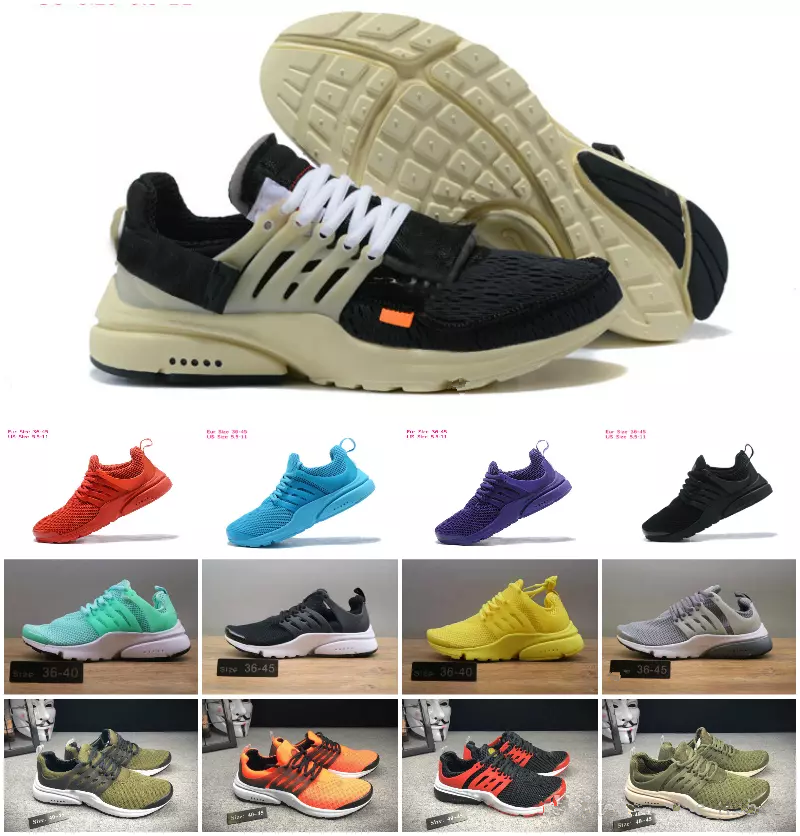 brand new 6f0c1 57e8e Aliexpress.com   Buy New 2018 Air PRESTO BR QS 5 Running Shoes Men Women  Prestos Ultra BR QS Yellow Pink Oreo Outdoor Fashion Jogging Sneakers Shoes  from ...