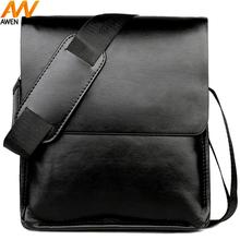 купить Awen Shaw Top Sell Classic Design Leather Messenger Bag For Men Solid Casual Business Man Bag Brand Cross body Shoulder Bags по цене 517.14 рублей