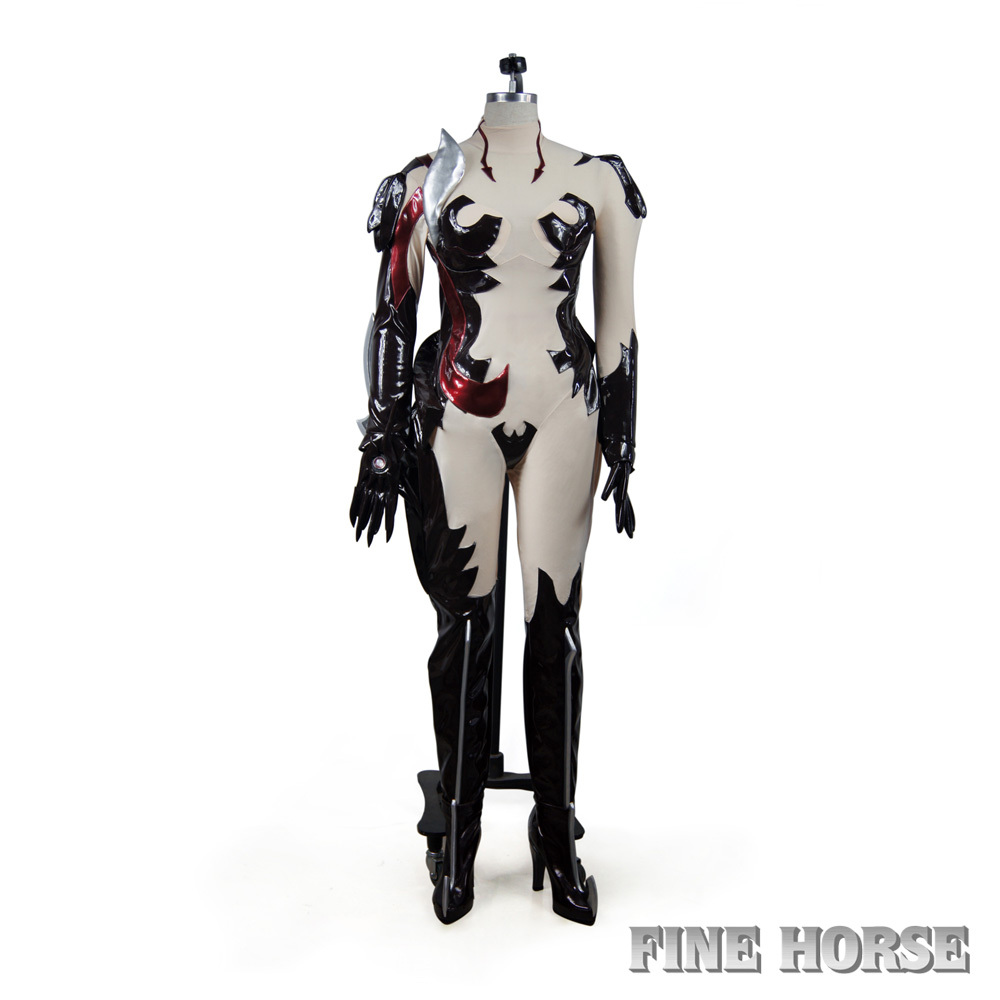 Witchblade Witch Blade Masane Amaha Cosplay Costume+Gloves+Shoes ...
