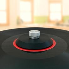 Peso/braçadeira do registro do estabilizador do disco do vinil do lp do material de luxo do lp da parte alta
