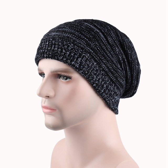 Cheap knitted Hats Striped Hat Female Unisex Plain Warm Soft Women s  Skullies Beanies Knitted Caps For Autumn and Winter ac53577e4a4