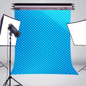 Image 3 - 5x7ft Blue Abstract Background Image Photography Backdrop Art Photo Studio Props Wall Backdrop