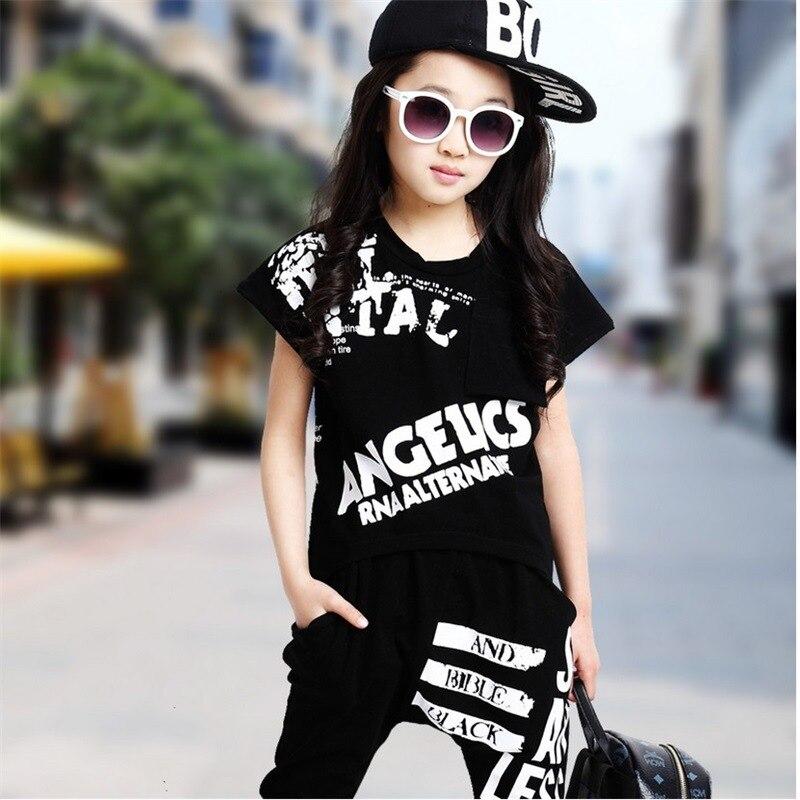 new Children Jazz Dance Costumes Girl DJ Jazz Performance Wear Kids Hip hop Hip hop Dance ...