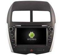 HD 1024*600 2 GB ram четырехъядерный Android 6,0 PC Автомобильный DVD gps головное устройство для peugeot 4008 Мицубиси ASX RVR Outlander Спортивное радио