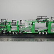 Авто ИНН-Оксфорд 1: 76 Scania EVO 6 Автовоз-Woodside motorfreight литья под давлением модель автомобиля