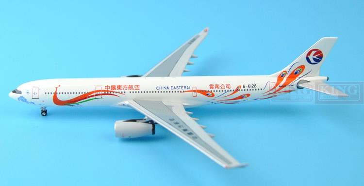 New: Aeroclassics China Eastern Airlines B-6128 A330-300 peacock painted 1:400 commercial jetliners plane model hobby aeroclassics all american airlines n290ay 1 400 a330 200 commercial jetliners plane model hobby