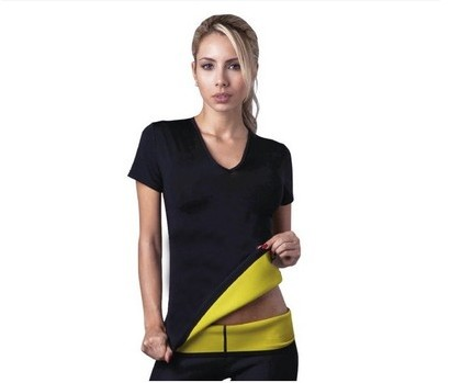 T-shirt  Stretch Neoprene Slimming Vest Body Control Vest Tops