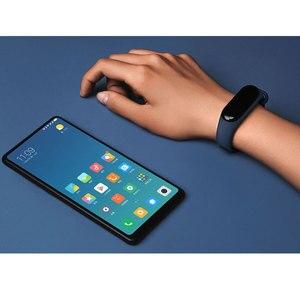 Image 5 - Bracelet Original Xiao mi bande 3 Smart mi bande 3 Bracelet OLED Touchpad Message instantané identification de lappelant moniteur de fréquence cardiaque
