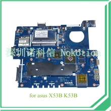 laptop motherboard for ASUS X53B K53B LA-7322P Rev 1A AMD E450 HD 6470M DDR3