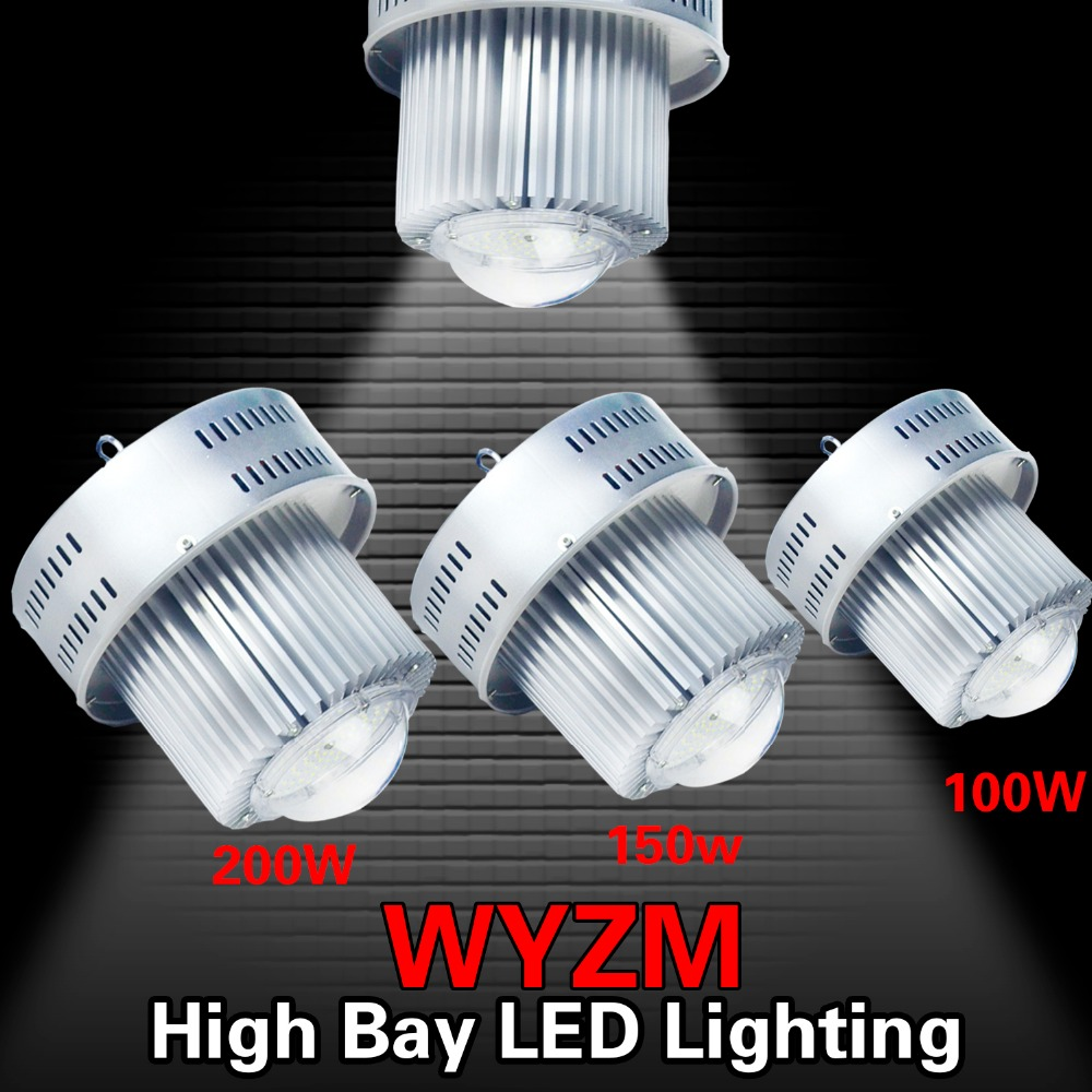 USA Local Shipping,100W 150W 200W LED High Bay Warehouse Light Bright White Fixture Factory 250W-1000W Equiv Shop 1pcs 50w 100w 150w led high bay light 150w led industrial lamp for sewing machine light factory warehouse stadium workshop