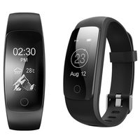 SportID ID107 Plus Smart Band Watch Heart Rate Monitor Bluetooth Bracelet Waterproof Wristband Fitness Guided Breathing