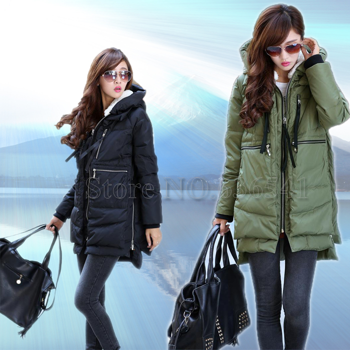 Online Buy Wholesale duck down women coat fashion brand from China