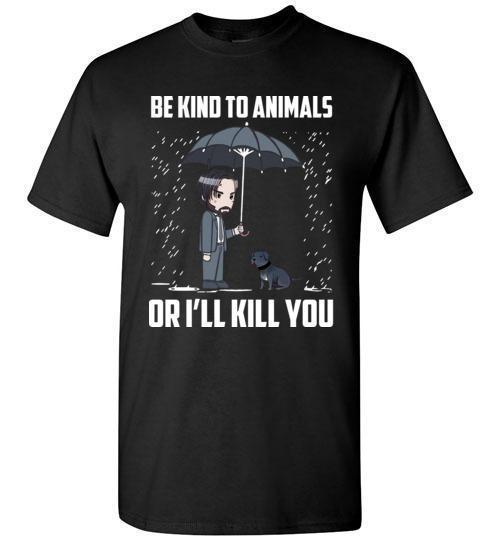 """להיות נחמד חיות John פתיל נגד התעללות בבעלי חיים מצחיק חולצה סגנון עגול סגנון t חולצה Tees מותאם אישית ג 'רזי פיינורד להט""""ב אייאקס"""