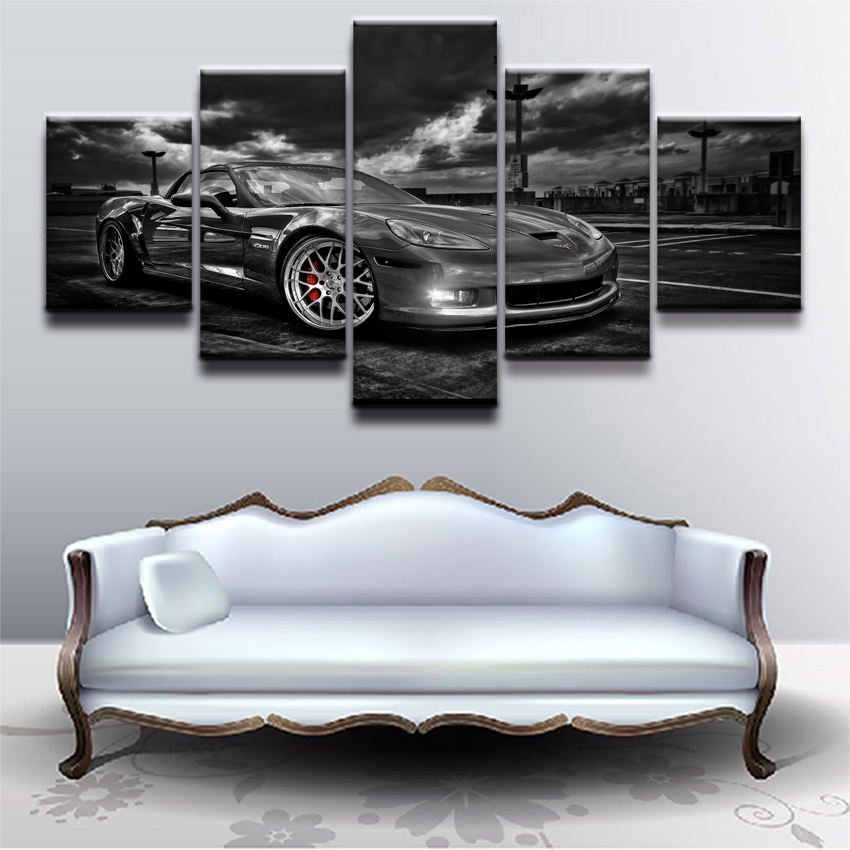 Modular Unique Wall Art Pictures Canvas HD Printed Poster Modern ...