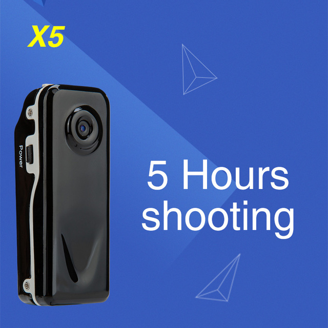 X5 Micro Protable Camera Mini  Camera Motion Camcorder
