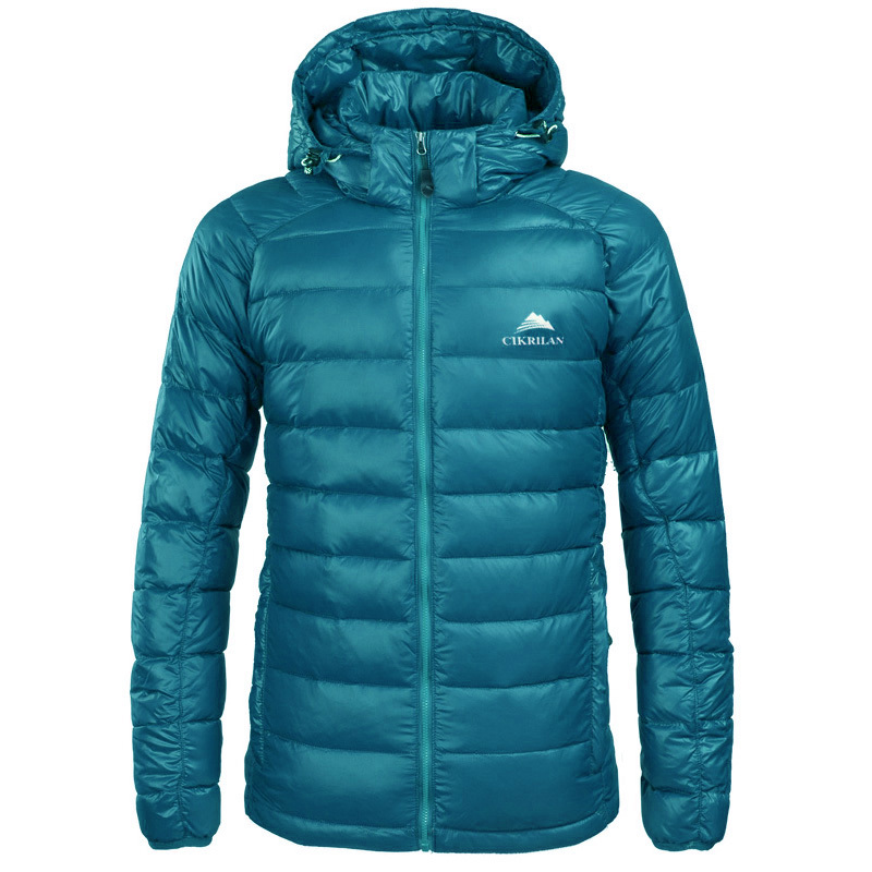2017 New Mens Hooded Down Jacket Water Resistant Windstoper Outwear Clothes 80% Duck Down Warm Coats Trekking Leisure CKL229
