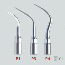Nuevo 3 Unids / lote Ultrasonic Escalador Dental Consejos P1 P3 P4 Con EMS / WOODPECKER Compatible Perfecto Blanqueamiento Dental Herramientas Dentales