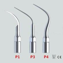 Nya 3st / lot Ultraljud Dental Scaler Tips P1 P3 P4 Med EMS / WOODPECKER Kompatibla Perfect Tandblekning Dental Tools