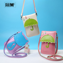Candy Color Mini Women messenger bags fashion style PU soft leather handbag Sweet cute Cartoon Characters Handbags Clutch messen
