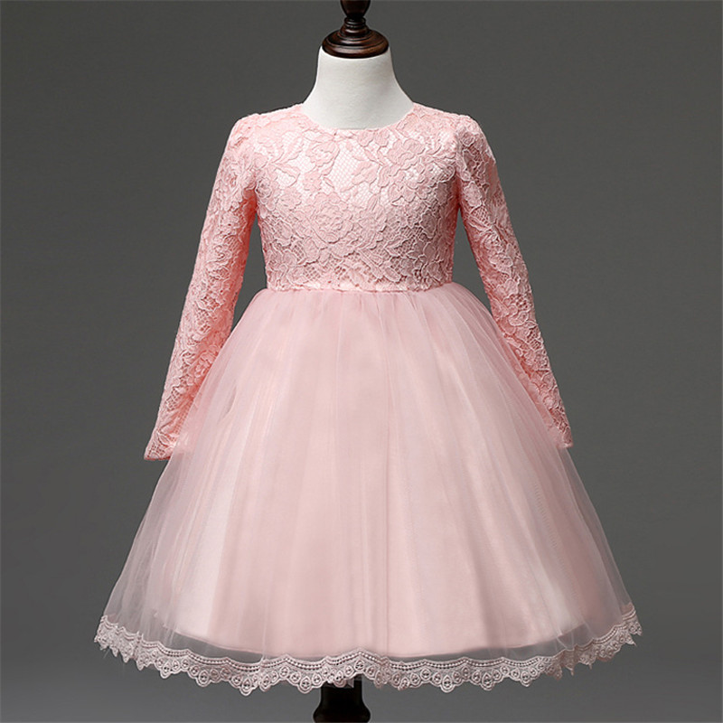 Подробнее о 2016 Kids Clothes Girls Princess Dresses Toddler Girl Dresses Children Bow Waist Lace Party Dress For Baby Dress Infant Costume children costumes for girls sweet princess dress baby girl school dresses for birthday party long sleeved bow girl kids clothes