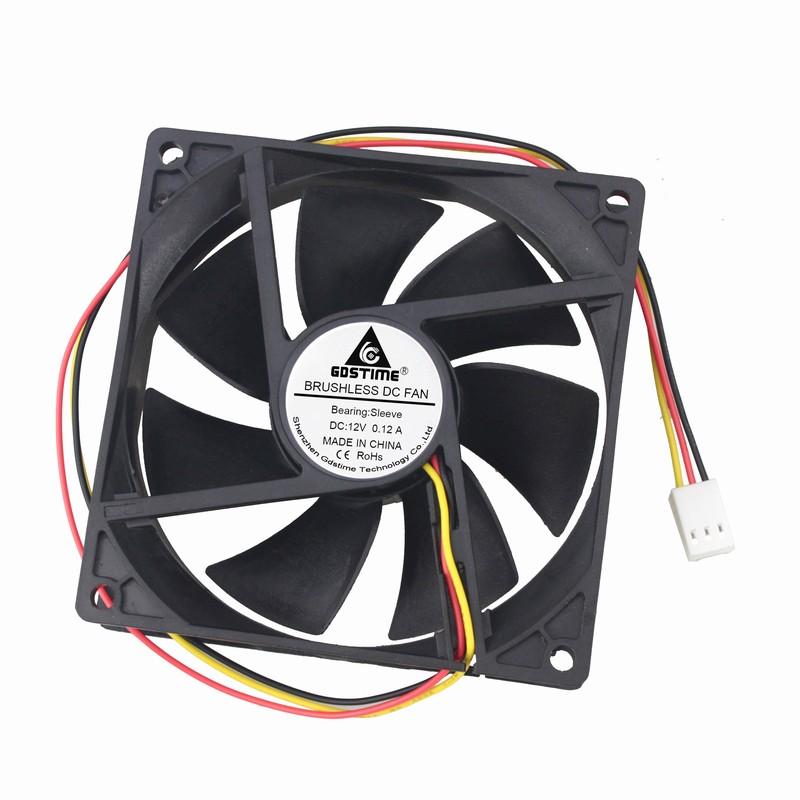 QTY New 26 Sunon 80x80x25mm 3 pin fan # KD1208PTB1