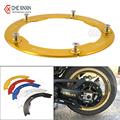 New Arrival Gold motorcycle Transmission Belt Pulley Cover For Yamaha  tmax 530 2012-2015 t-max 530