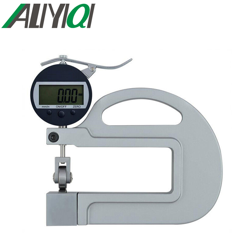 0-10mm 0.01mm digital micron thickness gauge with roller insert high precision good quality longline high neck tee with leopard insert page 7