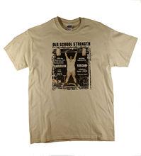Vintage Strongman Power Lifting deadlift Anderson Motivational Natural T-Shirt  Harajuku Tops t shirt Fashion Classic Unique