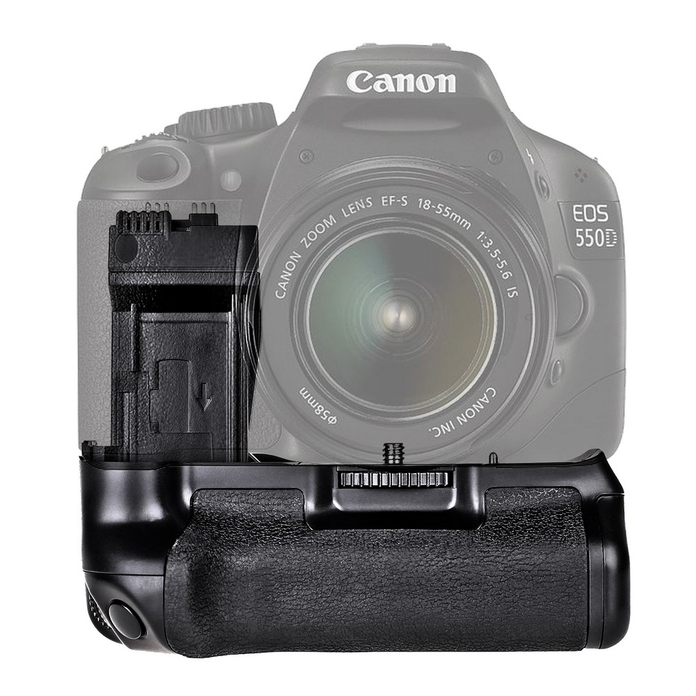Travor Professional Battery Grip For Canon EOS 550D 600D Rebel T2i T3i T5i T4i DSLR Cameras as BG-E8 BGE8 сумка для видеокамеры canon dslr rebel t3i t1i t2i eos 1100d 1000d 600d 60d 5d x57