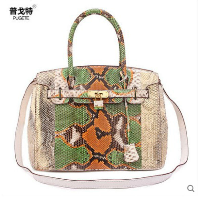 2020 pugete new python leather women package high fashion luxury handmade banquet  Europe and America Lady bags women handbag yuanyu 2018 new hot free shipping real python skin snake skin color women handbag elegant color serpentine fashion leather bag